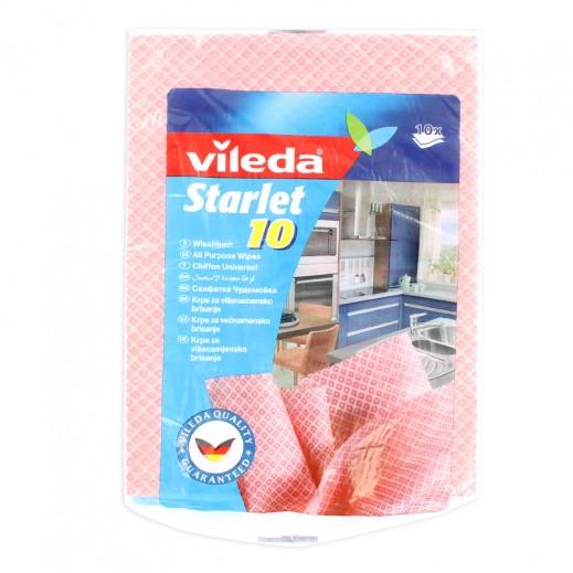 Vileda Starlet Cloth 10 pieces