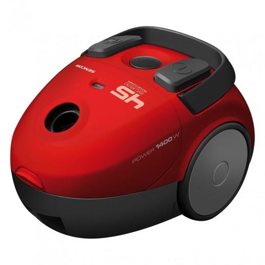 Sencor Bagged Vacuum Cleaner 1,400 W - Red