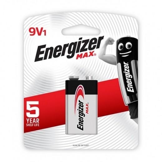 Energizer Alkaline Batteries 9 V 1 Piece