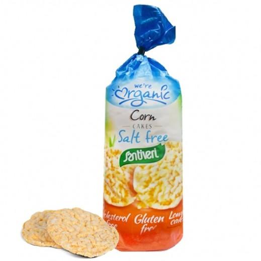 Santiveri Organic Salt free Wholemeal Corn Cake 140 g