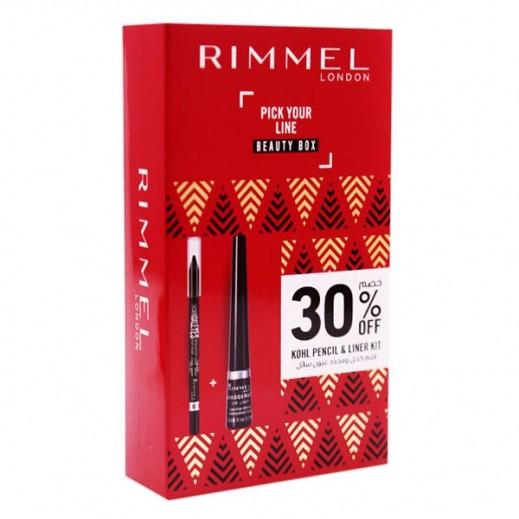 Rimmel Kohl Pencil + Liner Kit