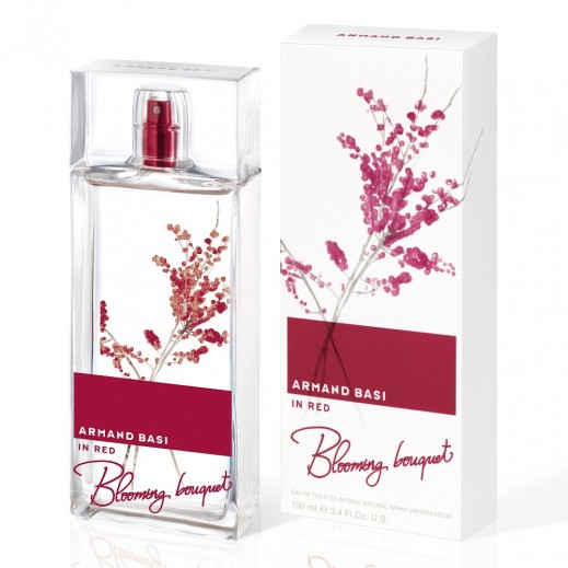 Armand Basi In Red Blooming Bouquet For Her EDT 100 ml - delivered by Beidoun