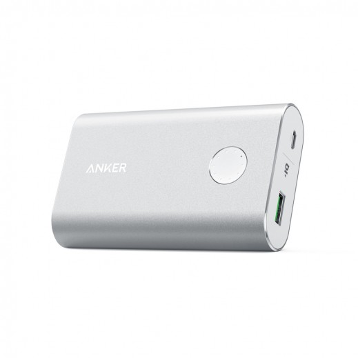 Anker PowerCore+ 10050 mAh QC3.0 Power Bank - Silver