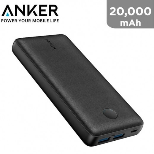 Anker 20,000 mAh Power Core Power Bank - Black