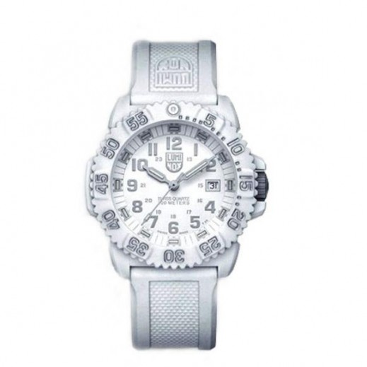 Luminox Unisex White Swiss Quartz Movement Watch A.3057.WO