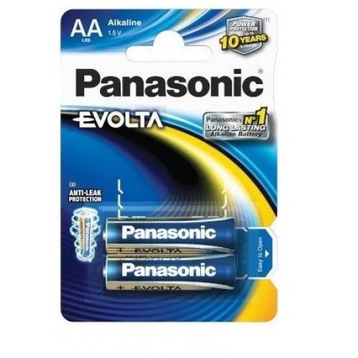 Panasonic Evolta Alkaline Battery 1.5 v AA Size (2PCS)