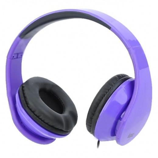 iLead Foldable Headphone - Purple