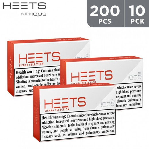 Heets Sienna Selection 200 Pieces