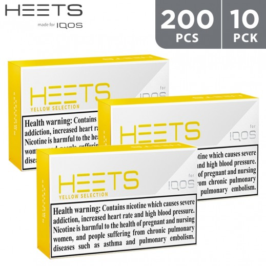 Heets Yellow Selection 200 Pieces