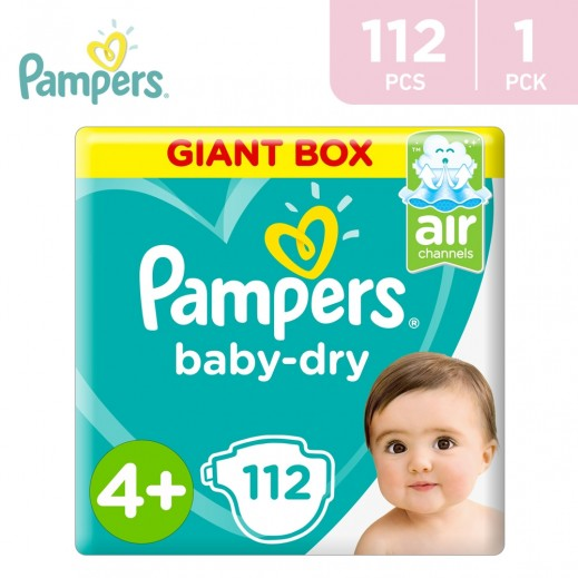 Pampers Stage 4 Maxi (9 - 14 kg) 112 Pieces
