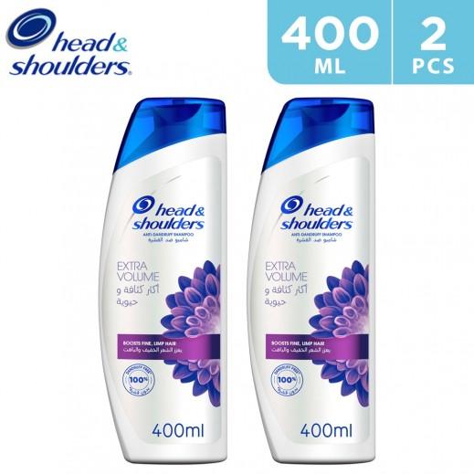 Head & Shoulders Menthol Anti-Dandruff Shampoo 2 x 400 ml