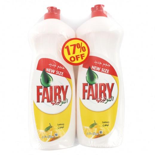 Fairy Dish Wash Liquid With Lemon 2×750 ml (17% off Prom)