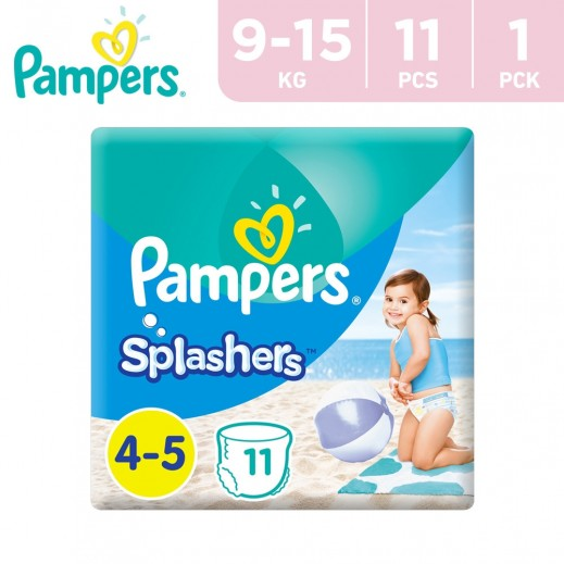 Pampers Splashers Swimming Pants Stage 4-5 (9-15 kg) 11 Pieces