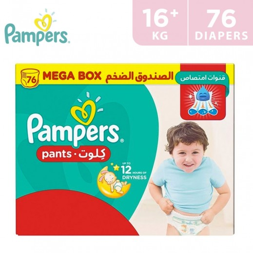 Pampers Pants Stage 6 ( 16+ Kg) Extra Large Mega Box 76 Pieces