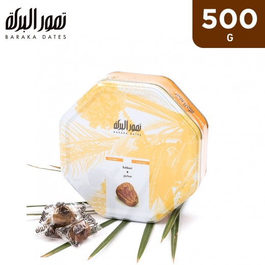 Baraka Sukkari Dates Tin Box 500 g