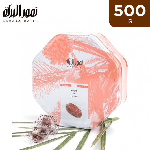 Baraka Medjool Dates Tin Box 500 g