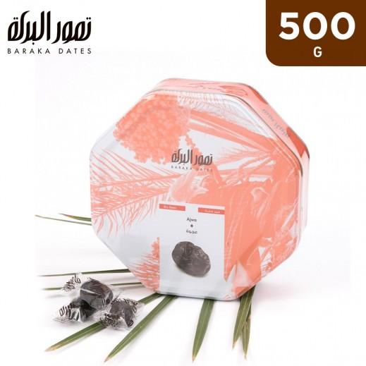 Baraka Ajwa Dates Tin Box 500 g