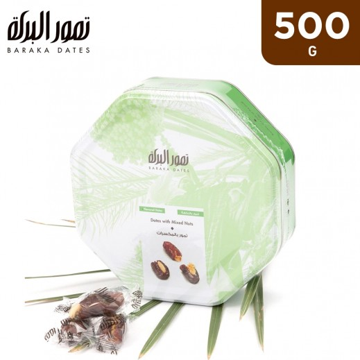 Baraka With Mixed Nuts Tin Box 500 g
