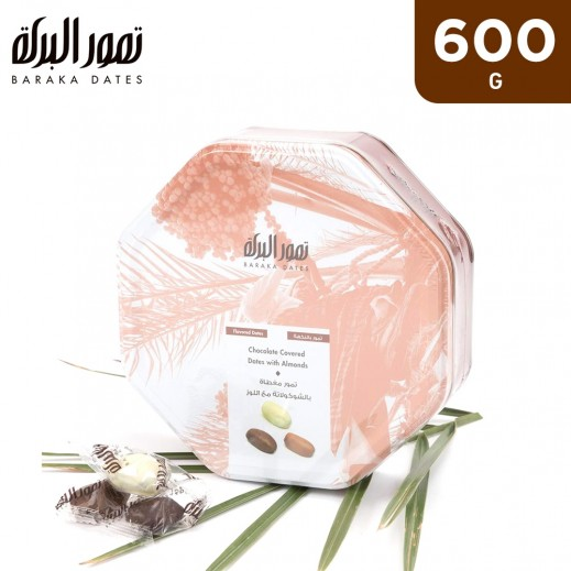 Baraka With Chocolate & Almonds Tin Box 600 g