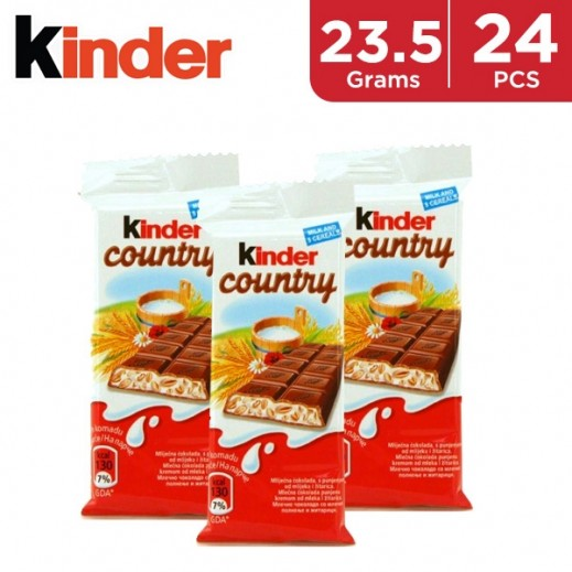 Kinder Chocolate with Cereals 24 x 23.5 g