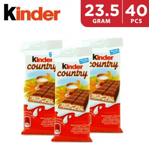 Kinder Chocolate with Cereals 40 x 23.5 g