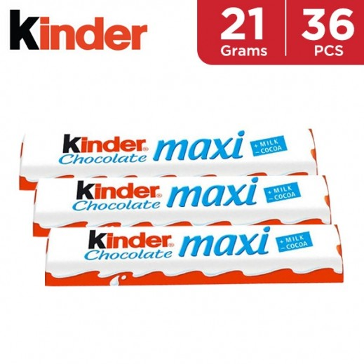 Kinder Maxi 36 x 21 g