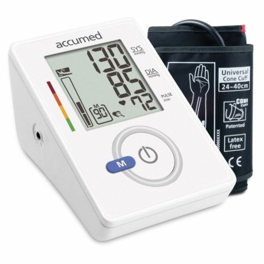 AccuMed Automatic Upper & Arm Blood Pressure Monitor AW150f