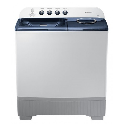 Samsung 15 kg Twin Tub Washing Machine - White  - delivered by AL ANDALUS After 3 Working Days