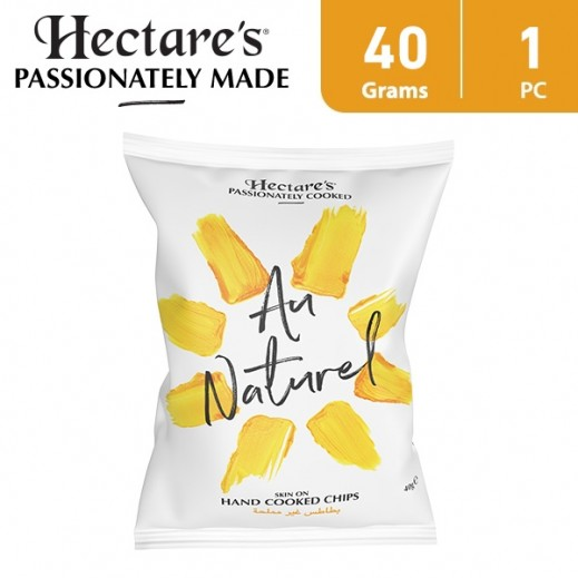 Hectare's Au Naturel Unsalted Potato Chips 40 g