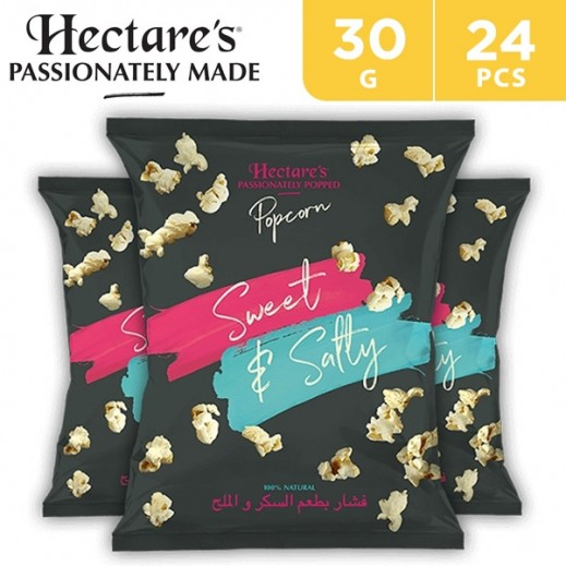 Hectare's Popcorn Sweet & Salty 24 x 30 g