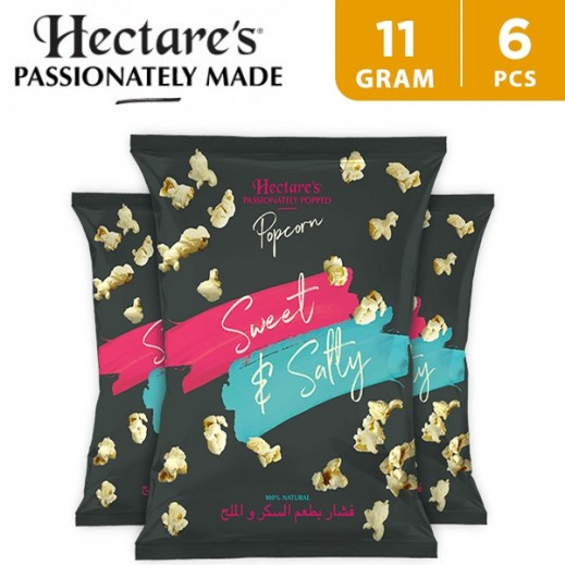 Hectare's Popcorn Sweet & Salty 6 x 11 g
