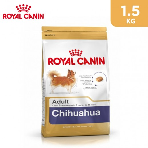 Royal Canin Breed Health Nutrition Chihuahua Adult Dog Food 1.5 kg