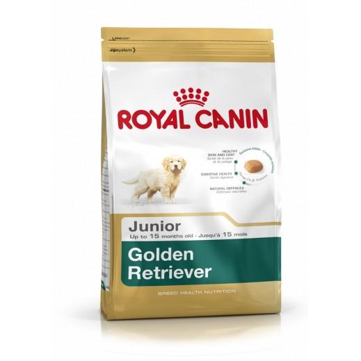 Royal Canin Breed Health Nutrition Golden Retriever JUNIOR Dog Food 12 kg