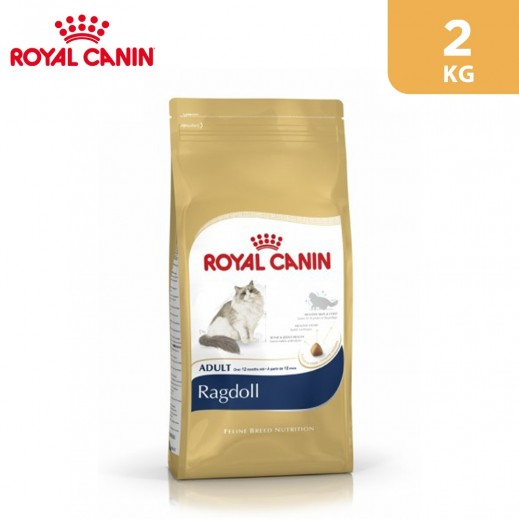 Royal Canin Feline Breed Nutrition Ragdoll Cat Food 2 kg