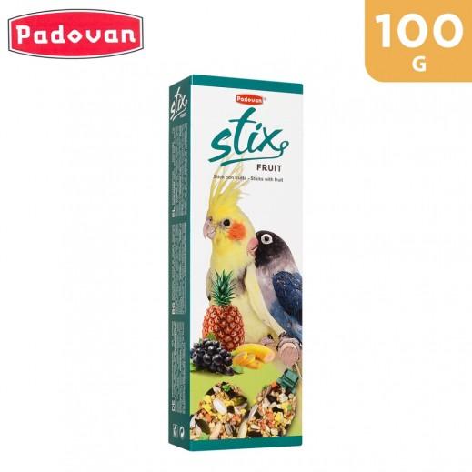 Padovan Stix Fruit Parrocchetti Bird Food 100 g