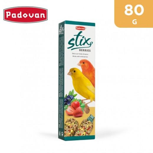 Padovan Stix Berries Canarini 80 g