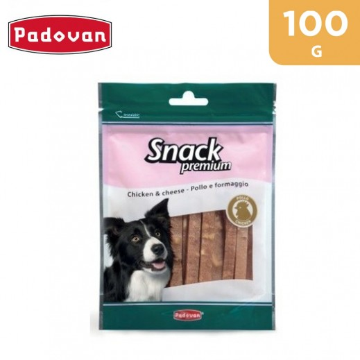 Padovan Premium Dog Snack With Chicken & Cheese 100 g