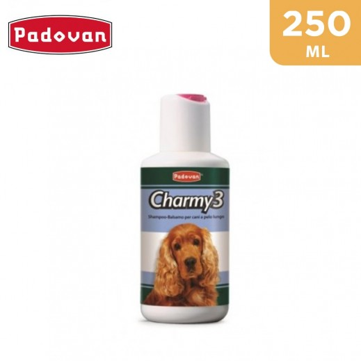 Padovan Charmy3 Shampoo Balsam for Long Haired Dogs 250 ml
