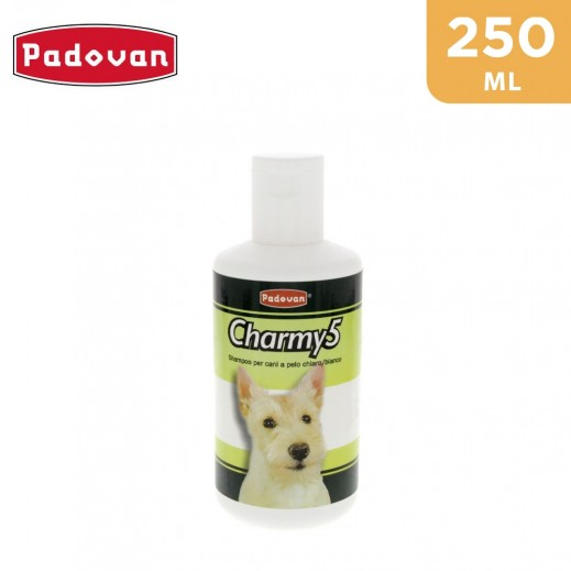 Padovan Charmy5 Shampoo for Light Color White Haired Breeds 250 ml