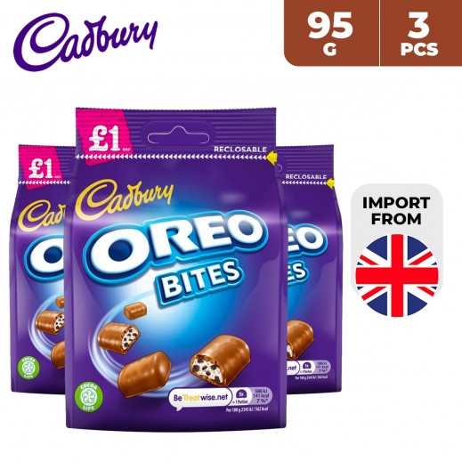 Cadbury Oreo Bites Chocolate 3 x 95 g