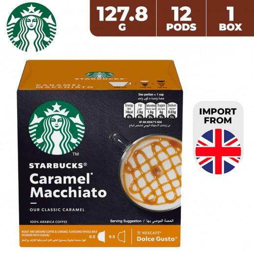 Starbucks Nescafe Dolce Gusto Caramel Macchiato 12 Capsules 127.8 g