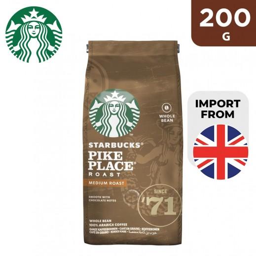 Starbucks Pike Place Whole Bean Coffee 200 g