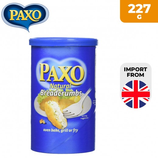 Paxo Natural Bread Crumbs 227 g