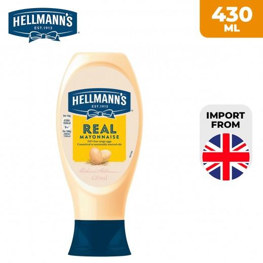 Hellmann's Real Squeezy Mayonnaise 430 ml
