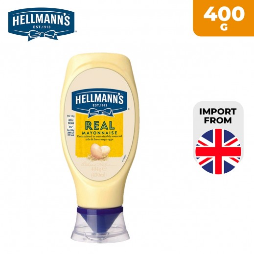 Hellmann's Real Squeezy Mayonnaise 400 g