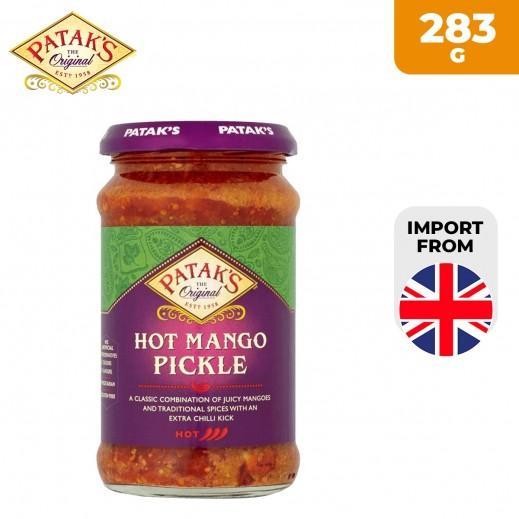 Patak's Hot Mango Pickle 283 g