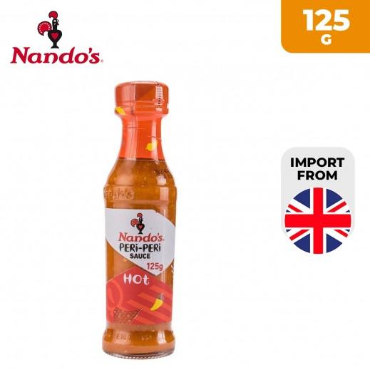 Nando's Hot Peri Peri Sauce 125 g