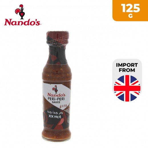 Nando's XX Hot Peri Peri Sauce 125 g
