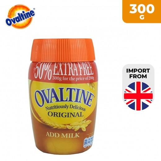 Ovaltine Original Powder Drink 300 g (50% Extra Free)
