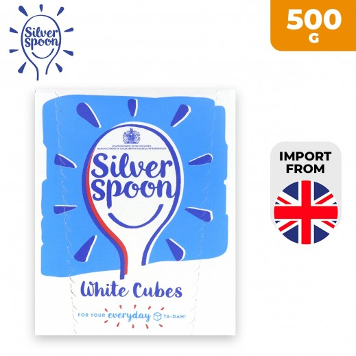 Silver Spoon White Sugar Cubes 500 g